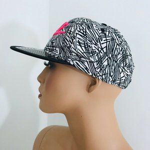 Nike Accessories - Nike True hat pink spell out clear bill snapback